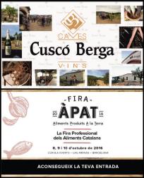 Fira ÀPAT és la fira professional dels aliments produïts a Catalunya